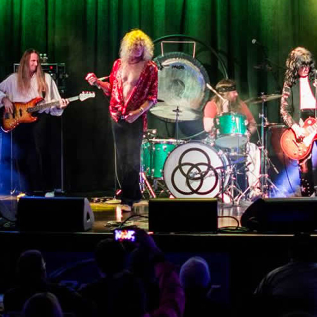 Zoso – The Ultimate Led Zeppelin Experience at Pocahontas Premieres
